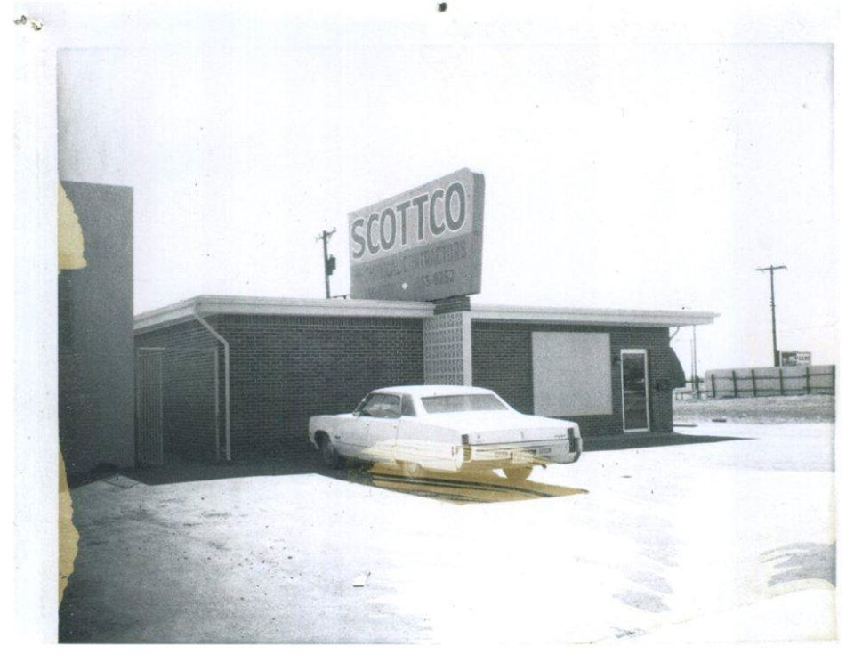 Original Scottco Mechanical Building